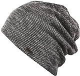 PERTH - Trendige leichte Mütze für Damen und Herren - unisex (schwarz/weiß)