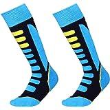 Barrageon Calcetines de Esquí de Invierno Térmico Calientes para Esquiar, Snowboard, Senderismo, Ciclismo, Trekking Calcetine