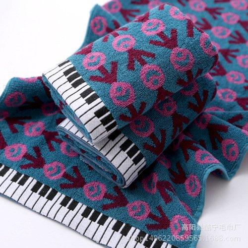 xxffh-panno-della-lavata-32-acciones-de-cara-del-algodon-jacquard-de-toallas-2-purple