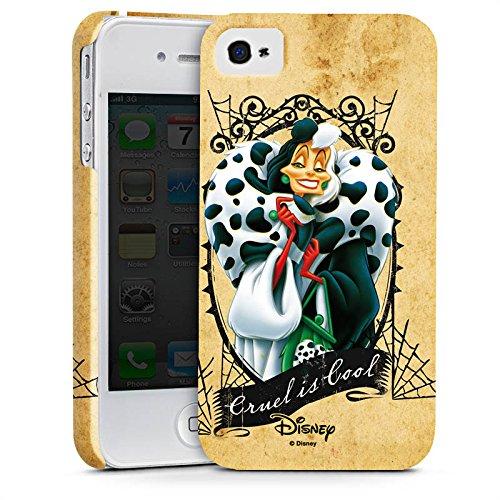 Apple iPhone X Silikon Hülle Case Schutzhülle Disney 101 Dalmatiner Cruella de Vil Geschenk Merchandise Premium Case glänzend