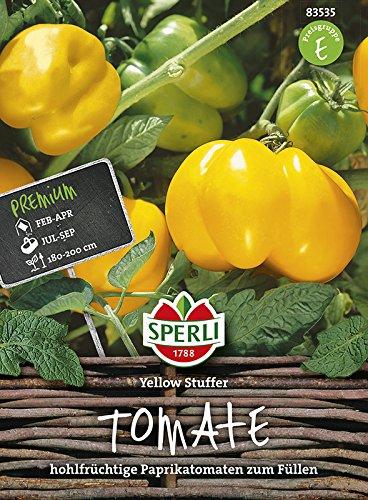 Gemüse Samen von Sperli (Yellow Stuffer Tomate)