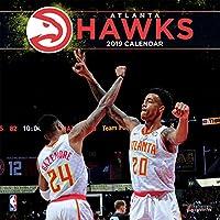 Turner 1 Sport Atlanta Hawks - Calendario de pared para oficina, diseño de equipo 2019, 12 x 12 cm (19998011869)