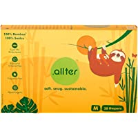 Allter Extra Soft and Snug Fit, Super Dry, Quick Absorb Explorer Design Harsh Chemicals and Fragrance-Free Bamboo Pulp…