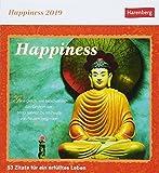 Happiness - Kalender 2019: 53 Zitate für ein erfülltes Leben -