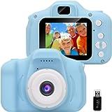 GlobalCrown Fotocamera Bambini,Mini Ricaricabile Fotocamera Digitale per Bambini Videocamera Regali per Ragazze Ragazzi…