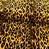 Stoffe Werning Pannesamt Tierprint Leopardenmuster
