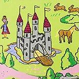 Märchenland HEVO® Mädchen Teppich | Spielteppich | Kinderteppich 145x200 cm Oeko-Tex 100