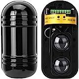 Bewegingsdetectoren, infraroodbeveiligingsdetector 100m Actieve detector onzichtbare barrière actieve foto-elektrische dubbel