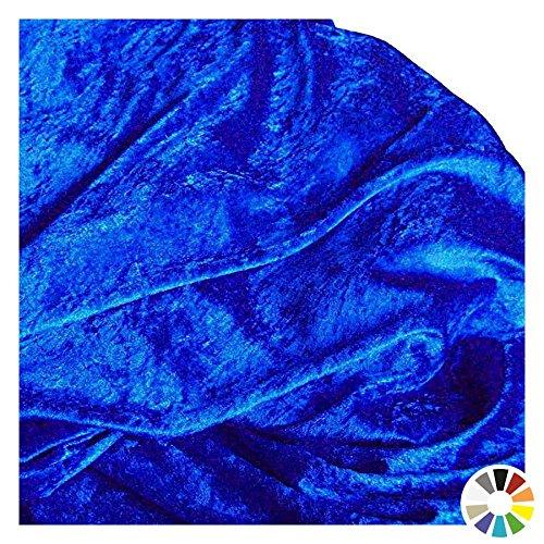 nnesamt Meterware mit Stretch zum Nähen, Basteln und Dekorieren (Royal-Blau) (Royal Blau Kostüme)