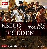 Krieg und Frieden (mp3-Ausgabe, ungek?rzte Lesung): 6 mp3-CDs