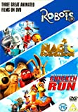 three Great Animated Films(Robots / Magic Roundabout / Chicken Run) [DVD]