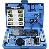 MAIKEHIGH Kit de réparation de Pneu Heavy Duty Ensemble de 67 pièces pour Moto, VTT, Jeep, Camion, Tracteur Réparation de Per