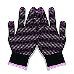 Herstyler Heat Resistant Gloves I Stylish and Non-Slip Heat Protection Glove that Makes Hair Styling with Flat Irons and Curling Wands Safer   Because Beauty Should Never Come At A Price