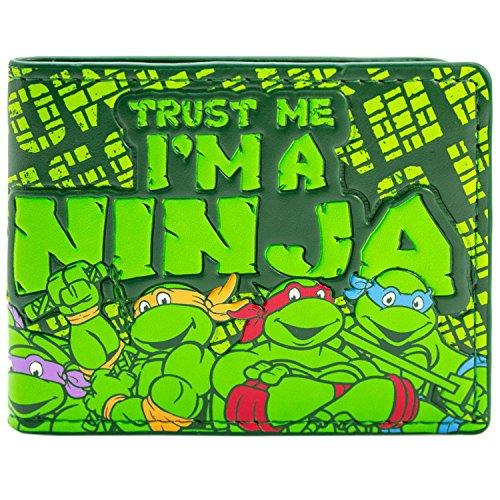 t Ninja Turtles Dass ich ich ein Ninja Grün Portemonnaie Geldbörse (Krang Teenage Mutant Ninja Turtles Kostüm)