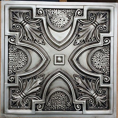 pl11-sintetica-pintado-envejecido-plata-techo-tiles-3d-con-cafe-pub-shop-arte-decoracion-de-pared-pa