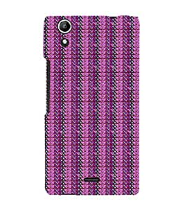 Colourful Pattern 3D Hard Polycarbonate Designer Back Case Cover for Micromax Canvas Selfie 2 Q340