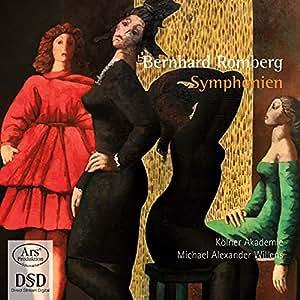 Bernhard romberg symphonies (forgotten treasures - volume 5)