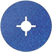 Bosch 2 608 606 729  - Disco lijador de fibra para amoladora angular, corindón de circonio - 115 mm, 22 mm, Tamaño de grano 100 mm [pack de 1]