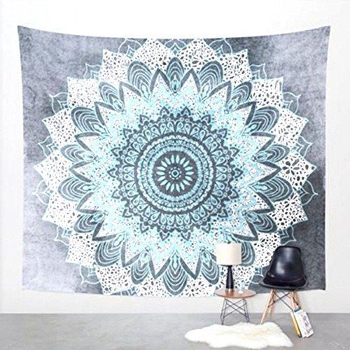 WSZYD Nouveau mur de tapisserie murale décorative à la maison d'impression de style bohème suspendu serviettes de plage drap de plage pour s'asseoir 203 * 153 (cm) ( Color : D )