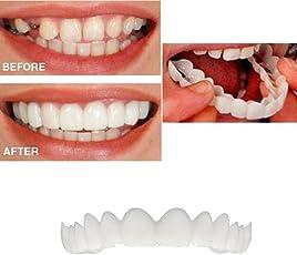 huichang Perfect Smile Zahnersatz Komfort Fit Flex - Die Unglaublichen und sofortigen wiederverwendbaren und Abnehmbaren Veneers, die Dir Den Blick der Perfekten Zähne Geben
