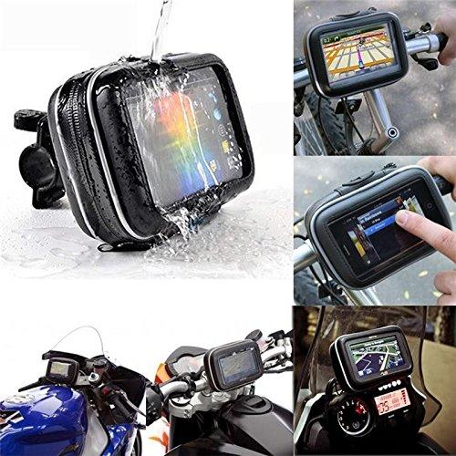 Resistente al agua Soporte para bicicleta, Universal para bicicleta manillar teléfono, 5pulgadas...