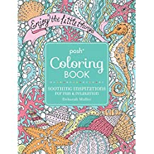 Posh Coloring Book: Soothing Inspirations for Fun & Relaxation