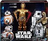 Star Wars Droids 30,5 cm Action Figure Pack – C-3PO – BB-8 RO-4LO – Exklusives Erwachen von Macht