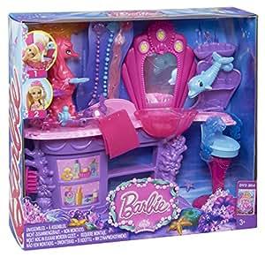 Barbie - BHM95 - Poupée - Salon De Coiffure Des Sirènes