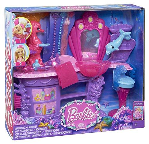 Barbie – Salon De Coiffure Des Sirènes 61v9y210JrL