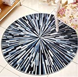 Hall floor mats Bathroom mats Round Carpet Living Room Coffee Table Matter Mattress Bedroom Floating Window Carpet Simple And Stylish Carpet Bedside Carpet Bathroom carpet Toilet mats ( Color : #1 , Size : 80*80cm )