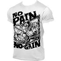 Cabeen Uomo Maglietta Palestra Bodybuilding Maglia Sportivo Allenamento Muscoli T-Shirt