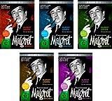 Kommissar Maigret Vol. 1 + 2 +3 + 4 + 5 Gesamtedition / 45 Folgen auf 15 DVDs (Pidax Serien-Klassiker)