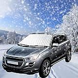 Parasole per Parabrezza Auto , Veotech Anti-Ghiaccio Telo copri auto addensare anti neve copertura parabrezza antighiaccio per Parabrezza Auto adatto per la maggior parte dei veicoli