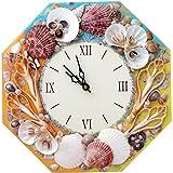 Super Drool Shell Enamled Wall Clock