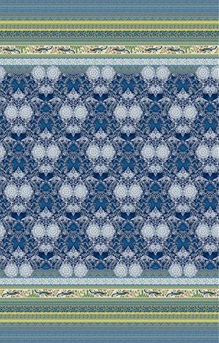 Bassetti Granfoulard telo arredo LOTO var.3 350 x 270cm blu