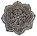 Indian Holz Blumenmuster Stempel Hand Geschnitzt Druck Block Textil Stamp