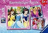 Ravensburger Disney Princess 3x 49pc Jigsaw Puzzles
