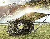 GOUQIN Tenda Doppia Esterna Impermeabile Campeggio Tende, 1 Persona Attrezzature...