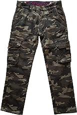 Fashion Boy Warme Jungen Thermohose, Tarnhose, gefütterte Winterhose, JT8249