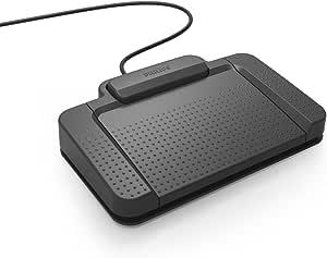 Philips Acc2310 Fußschalter Fußpedal Für Digitale Diktiersysteme Von Philips 3 Pedale Indiv Konfigurierbar Rutschfest Robust Besonders Ergonomisch Anthrazit Bürobedarf Schreibwaren