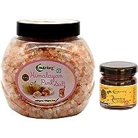 Nutriorg Himalayan Pink Salt 1100g (Get Certified Organic Honey - 50g Free) | 100% Natural | Crystal Form | 80+ Minerals…