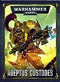 Warhammer 40k Adeptus Custodes Codex: Adeptus Custodes (Hardcover) (DE) Games Workshop Legio Custodes Leibgarde des Imperators
