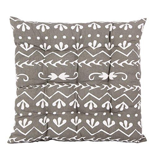 Icrafts 100/% puro cotone da cucina sedile cuscino per sedia con ...