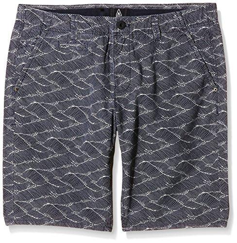 Gaastra Herren Shorts Deck Chino AOP, Blau (Waves F81), 46 (Herstellergröße: N-31)
