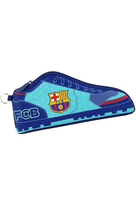 Safta Estuche F.C. Barcelona 2ª Equipacion 17/18 Oficial Escolar 240x20x100mm: Amazon.es: Ropa y accesorios