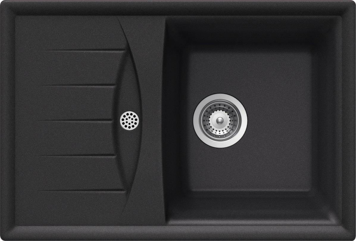 Schock D-100 S A Évier Cristalite Genius noir: Amazon.fr: Bricolage