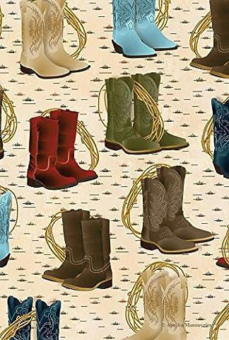 Toland Home Garden Country Boots 12.5 x 18-Inch Decorative USA-Produced Garden Flag