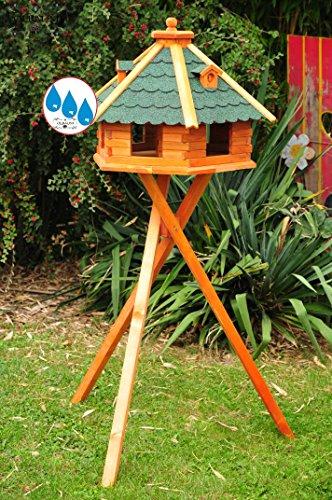 Massiccio-vogelhaus, XXL circa 70-75 centimetri, massiccio tetto resistente alle intemperie,