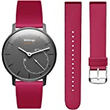 Hanlesi Withings Steel HR Bracelet de Montre, Soft Silicone Sport Fitness Strap Accessoire Band de Rechange pour Withings Steel HR Withings Activite Pop Wristband Accessoire Remplacement