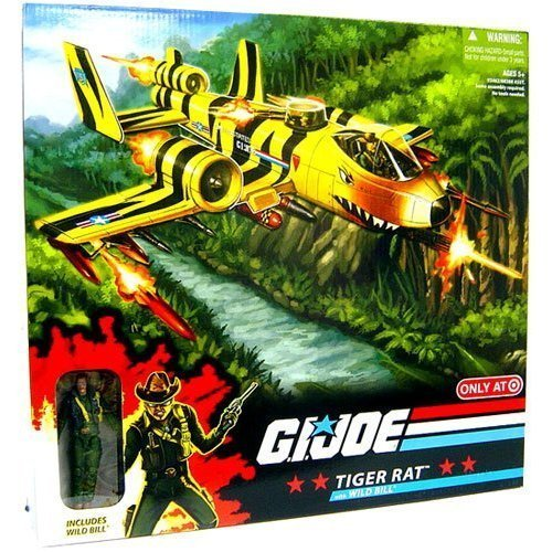 G. I. Joe Exclusive Deluxe Vehicle Tiger Ratte with Wild Bill by Hasbro (English Manual) -